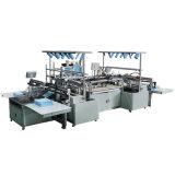 Máquina de fazer uma toalha de praia toalhas de algodão fazendo a máquina