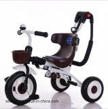 2017new driewieler voor het Speelgoed Trikes van Kinderen/van de Baby met het Certificaat CCC van de Staaf van de Duw