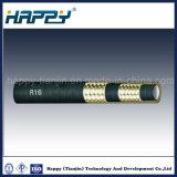 SAE 100R16 Super flexível o trançado de arame de aço de alta pressão da mangueira de óleo