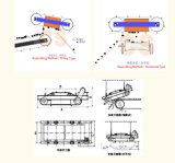 Séparateur magnétique permanent autonettoyant pour matériaux de construction, fabrication de papier