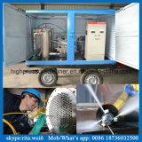 bomba de voladura del tubo 100MPa de la limpieza del agua de alta presión industrial del equipo