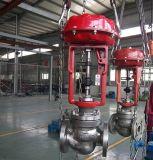 Dn40 PN40 316L et 316 Vanne de commande de garniture en acier inoxydable