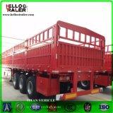 3 Essieu camion Cargo semi-remorque Remorque de camion de cargaison 50t