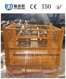Foldable 저장 철사 콘테이너 /Platform 콘테이너 롤 감금소