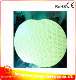 エッチングされたホイルのフィルムのヒーターのPolyimide 3Dプリンターヒーター220V 1000W Dia 550mm 150c 3m