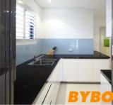 Kundenspezifischer hoher glatter Küche-Schrank (BY-L-48)