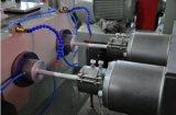 O PVC conduz a linha de produção