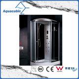 Salle de douche informatisée en verre tempéré complet (AS-T14)