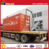 du camion 40feet de châssis de conteneur de côté de chargeur remorque hydraulique Sidelifter semi