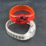Mouvement et le son plus récent LED clignotant Bracelets