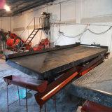 Uso di arricchimento di estrazione mineraria della sabbia dell'oro del giacimento detritico che agita Tabella
