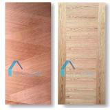 形成されたHDFシートのドアのパネルは競うか、またはドアの皮を薄板にする