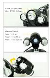 1000lumen 크리 말 T6와 2XPE 3AAA 또는 2X18650 건전지를 위한 책가방을%s 가진 최고 고성능 Headlamp