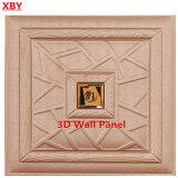Panneau décoratif en 3D Panneau décoratif en cuir PU