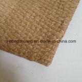 Materiales de aislamiento térmico Tejido refractario de fibra cerámica con recubrimiento de vermiculita