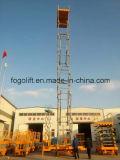 Plataforma hidráulica eléctrica 14m móvil Ascensor