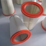 Custom tapa naranja irregular del cartucho de filtro de aire