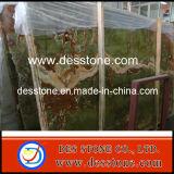 Encimera de mármol del azulejo de la losa del mármol antiguo del jade (DES-MT007)