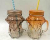 Hete Prijs van de Gift van Kerstmis verkoopt de Promotie Lage de Kruik/het Glaswerk van de Kop van het Glas/Metselaar