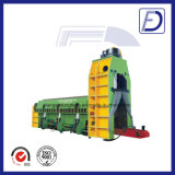 Hydraulischer Schrott-Aluminiumrahmen, der Ausschnitt-Maschine aufbereitet