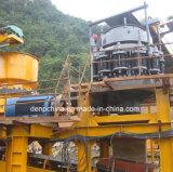 A linha de produção de pedra/ Planta de britador de pedra