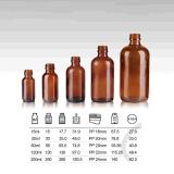 Янтарные стеклянные бутылки капельницы, бутылка Бостон Eliquid стеклянная (NBG06-1)