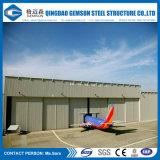 Modular prefabricado hangar de aviones baratos