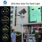 Lâmpada de rua solar de 60W, tudo em um com alto lúmen