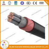 Тепловоза кабель 2000 вольт Dlo, UL Rhh/Rhw и луженый медный провод заземления