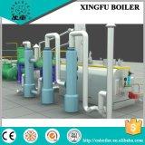 Equipamento de destilação de óleo de plástico e pneu
