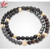 SMB-005 Bracelet à anneaux de pierres précieuses à la mode chaude