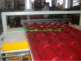 Riga dell'espulsione delle mattonelle di tetto/macchina di fabbricazione lustrate PVC