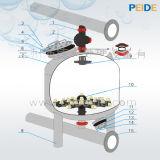 Fabricante de equipamiento de alta velocidad del tratamiento de aguas del filtro de arena de la piscina