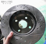 Disque de frein à disque (7700704705) pour les pièces de rechange automatiques de Dacia Renault