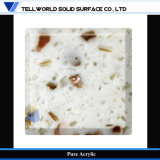 CE SGS Certifié Blanc Vente en gros Matériau de comptoir en surface solide