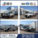 Dfc-350giratorio montado en un camión de plataforma de perforación de pozos de agua de la máquina para la venta