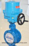 Elektrisches Stellzylinder-Flansch-Drosselventil