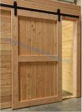 Dimon 30 adentro. X 84 adentro. Los paneles interiores rústicos de la puerta de granero del estilo americano (DM-WD 001)