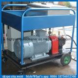 500bar 고압 젖은 모래 세탁기술자 디젤 엔진 물 청소 기계