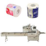 Máquina de embalagem de rolo de papel higiênico com pacote de selagem contra calor
