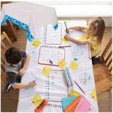 Kind-abgehobener Betrag auf PET lamellierter Wegwerfpapiertischdecke