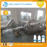 Monobloque de 3 en 1 máquina de producción de embotellado de agua