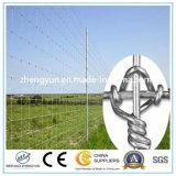 Galvanisierter örtlich festgelegter Knoten-Bereich-Stahlzaun