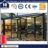 Portes de pliage en aluminium françaises d'usine de Guangdong