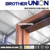 Rodillo de madera de la puerta del metal que forma la maquinaria