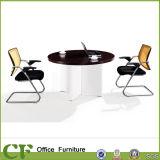 熱い販売のオフィス表の円形の木の茶表デザイン