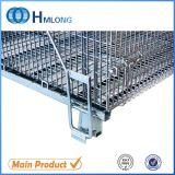 Grande contenitore industriale saldato della rete metallica