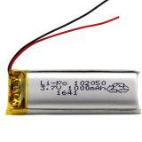 Batteria del polimero del Li dei prodotti di Digitahi con 102050 1000mAh 3.7V