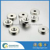 Starke Magnet-mini silberner runder Platten-seltene Massen-Neodym-Magnet