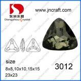 Os cortes delicados do diamante Dz-3012 preto afrouxam o elemento de cristal